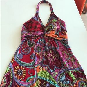 Muse halter top dress size4